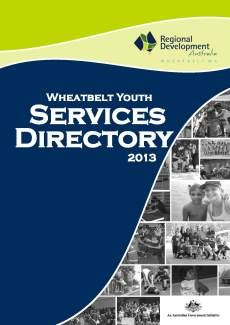 RDAW Wheatbelt Youth Services Directory 2013