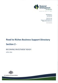 RDA Wheatbelt Road to Riches Directory - Section 2