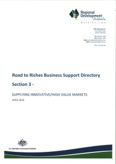 RDA Wheatbelt Road to Riches Directory - Section 3