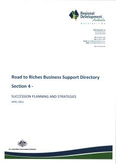 RDA Wheatbelt Road to Riches Directory - Section 4